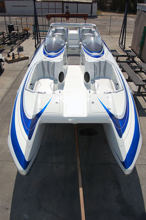 Contact US >> SD30 Performance Catamaran | DCB High Performance Boats