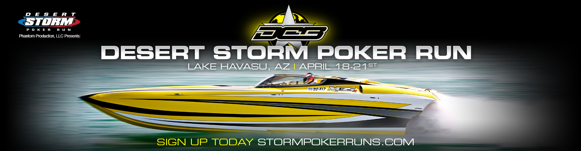 2018 Desert Storm Poker Run